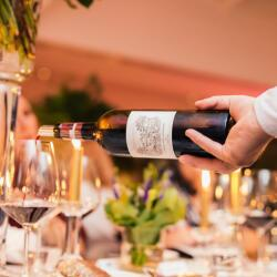 Chateau Lafite Rothschild Served On Spectus Dinner