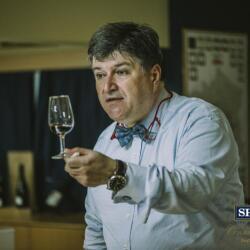 Mr George Hadjikyriacos At Wine Tasting